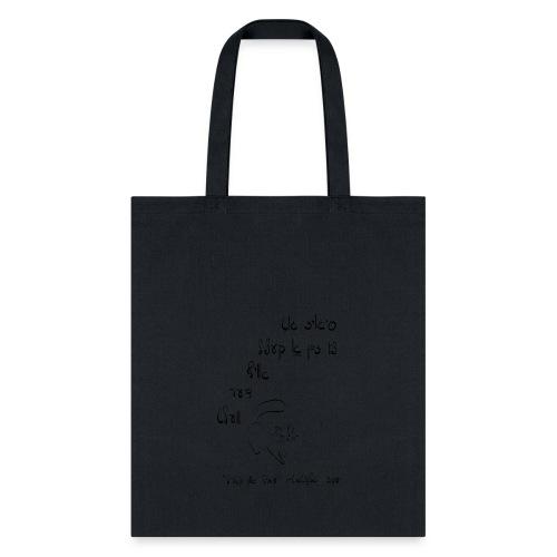 glatshteyn's ketsl - Tote Bag