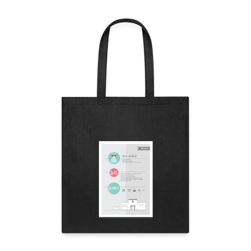 Nurse Resume Male - Tote Bag