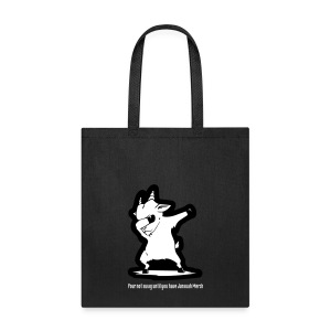 Dabbing Goat W Words 1 - Tote Bag