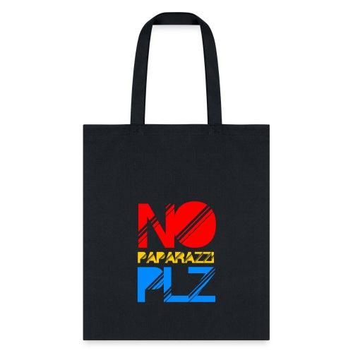 NO PAPPARAZI PLZ - Tote Bag