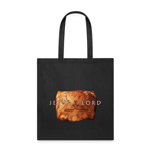 Jesus is Lord - stone tablet - Tote Bag