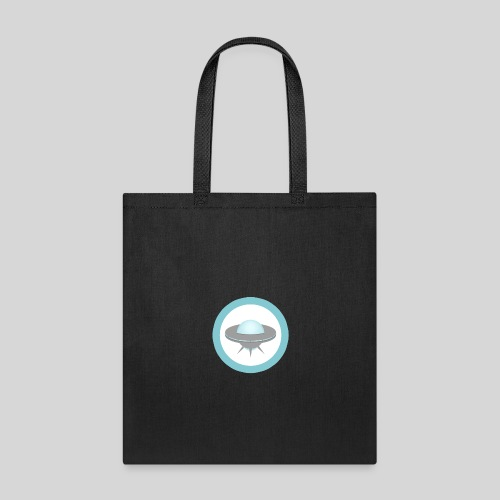 ALIENS WITH WIGS - Small UFO - Tote Bag