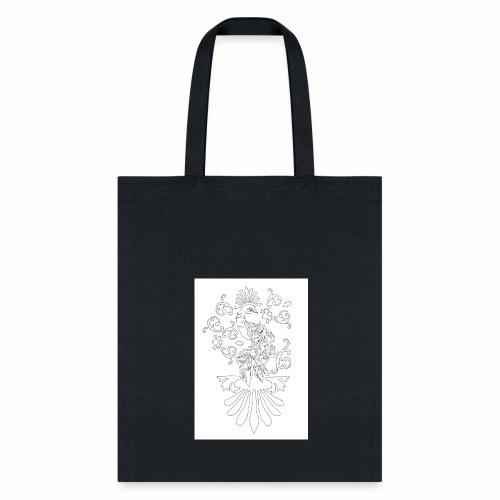 peacock wounder - Tote Bag