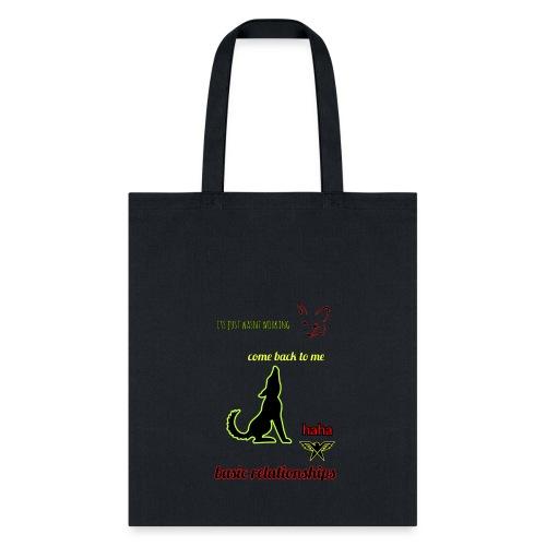 pet relationships - Tote Bag