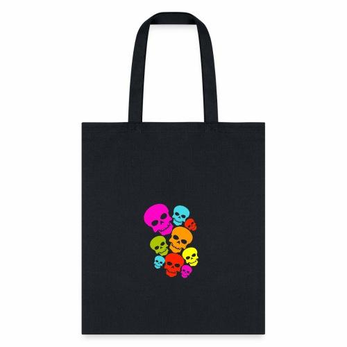 Happy Skull - Tote Bag