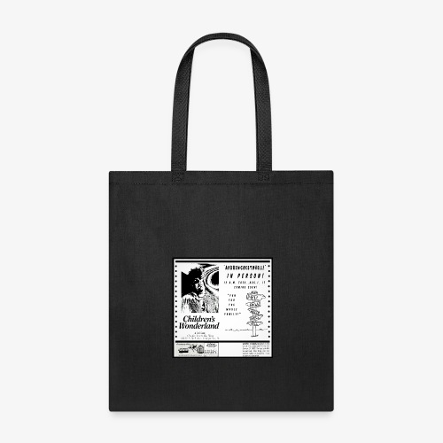 ANDREW GOES TO HELL IN PERSON - Tote Bag
