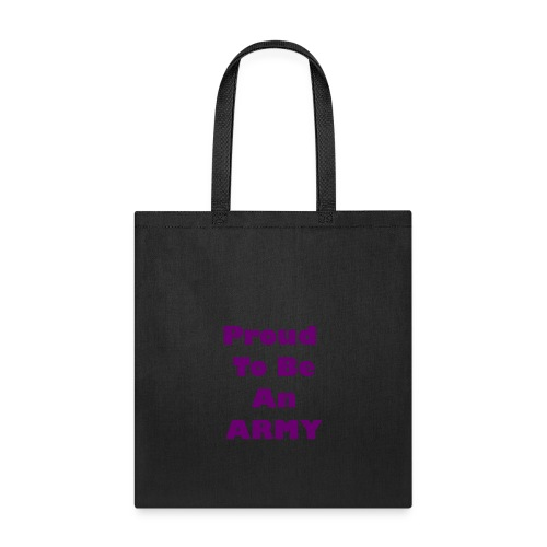 BTS - Proud To Be An ARMY - Tote Bag