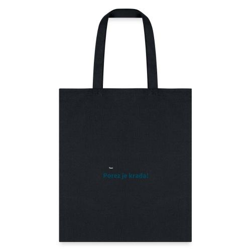 porezjekradja2 - Tote Bag