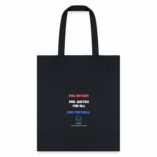 Pro Football Tee and Hoodie - Tote Bag