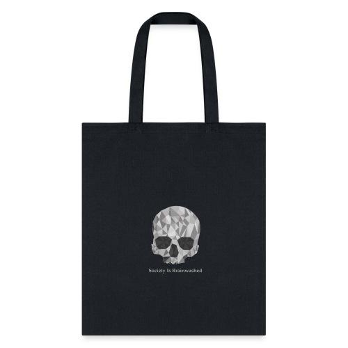 Society Is Brainwashed Logo - Tote Bag
