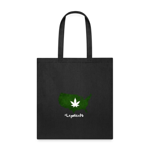 #LegalizeIt : National Weed League - Tote Bag