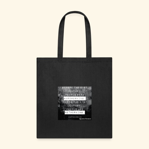 Networking vs hardworking - Tote Bag