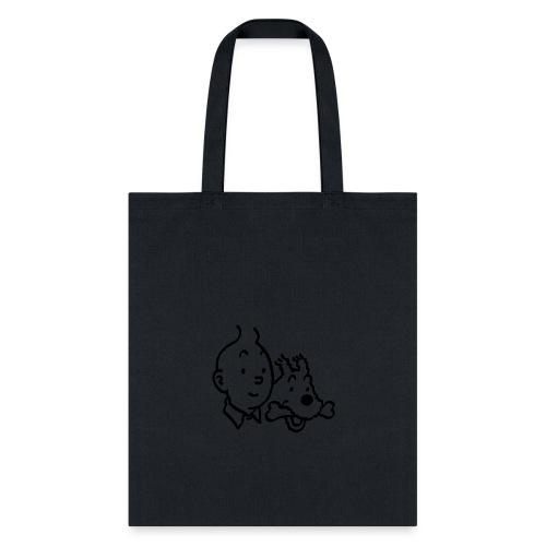 Tintin And Milou Merchandise - Tote Bag