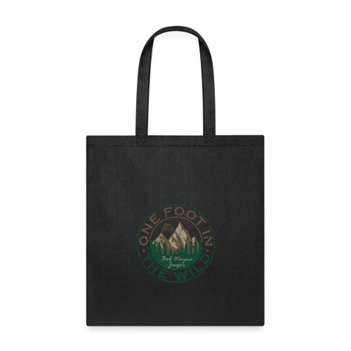 One Foot in the Wild Logo Gear - Tote Bag