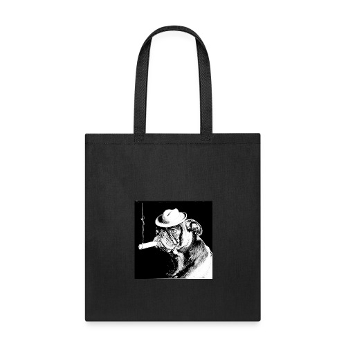 dog smoking - Tote Bag