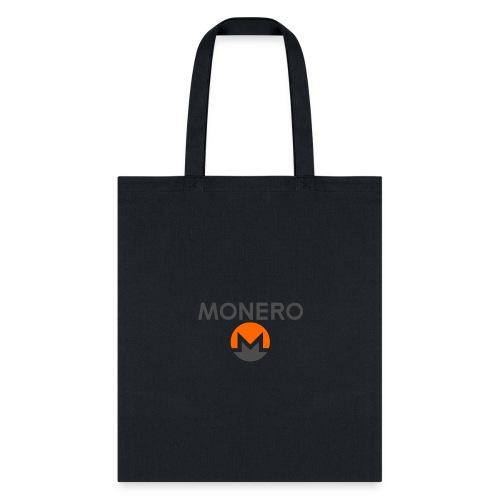 monero designed tshirts - Tote Bag