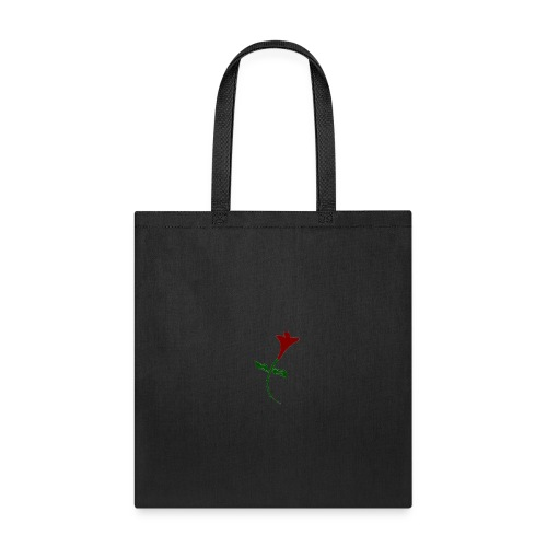 Street Rose rose - Tote Bag