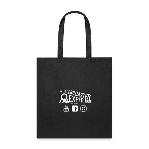 ROLLERCOASTER EXPEDITION WHITE - Tote Bag