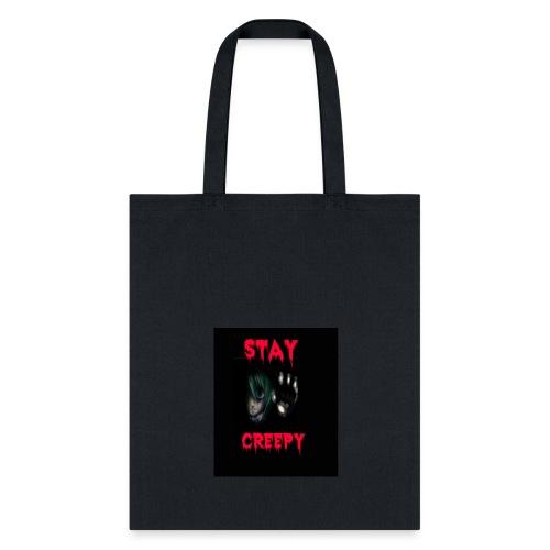 Stay Creepy Hoodie - Tote Bag