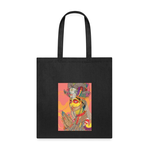 tribal bride - Tote Bag