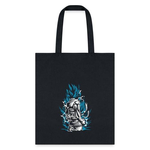 Saiyan God Blue Goku - Tote Bag