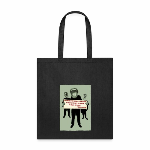 Frederick Douglass quote - Tote Bag