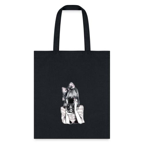 Menina com camera - Tote Bag