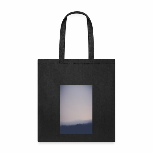 Foggy forest - Tote Bag