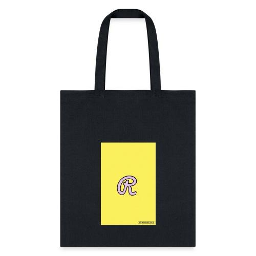 Pink R for Ryaun - Tote Bag