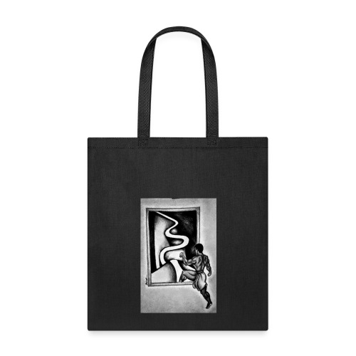 received 213912579372374step into you paththepath - Tote Bag