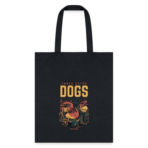 THREE ASTRO DOGS - Tote Bag