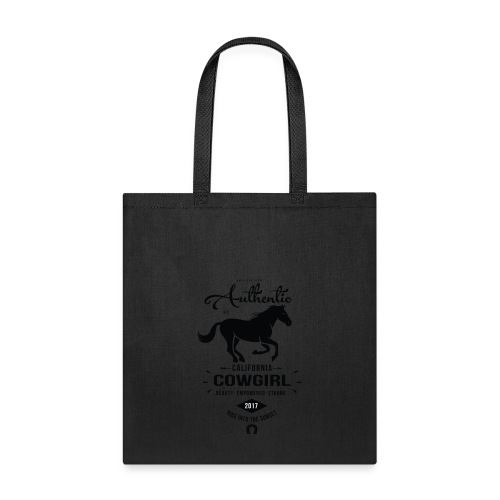 Authentic California Cowgirl Design - Tote Bag