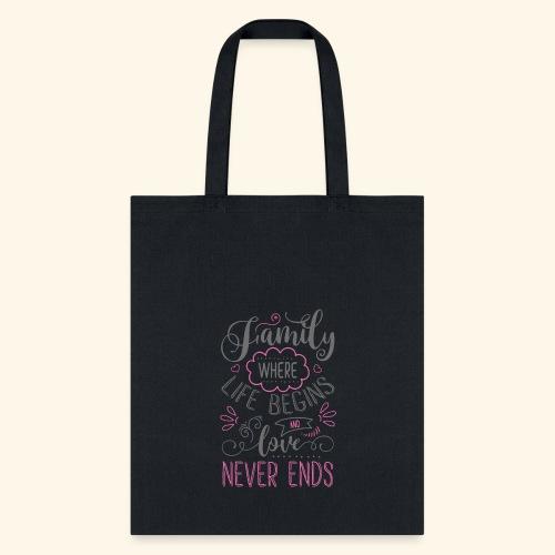 FAMILY` - Tote Bag