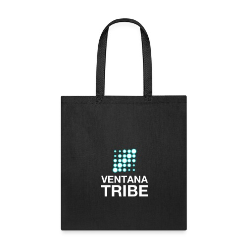 Ventana Tribe White Logo - Tote Bag