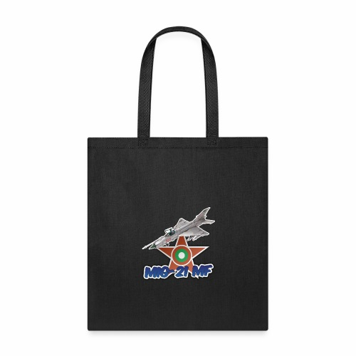 Bulgarian Air Force Mig-21 MF Jet Fighter - Tote Bag