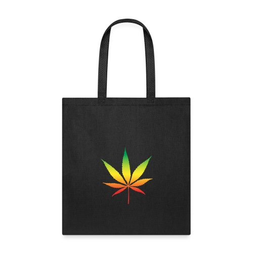 Colorful cannabis - Tote Bag