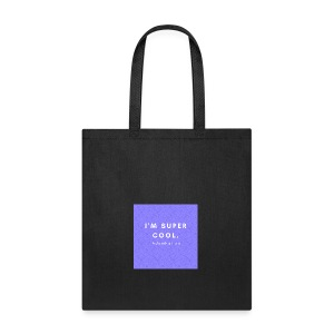 I'M SUPER COOL - AdamNation - Tote Bag