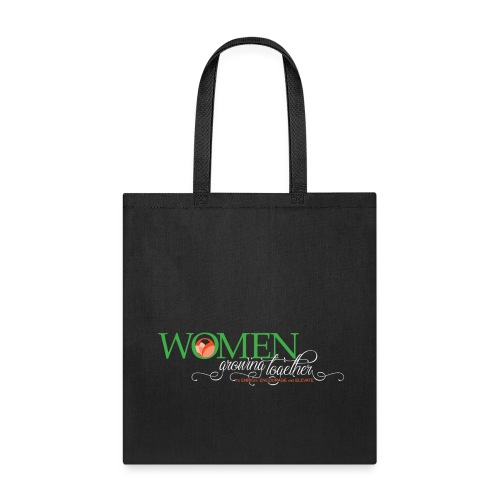 WGT FINAL Logo White Words - Tote Bag