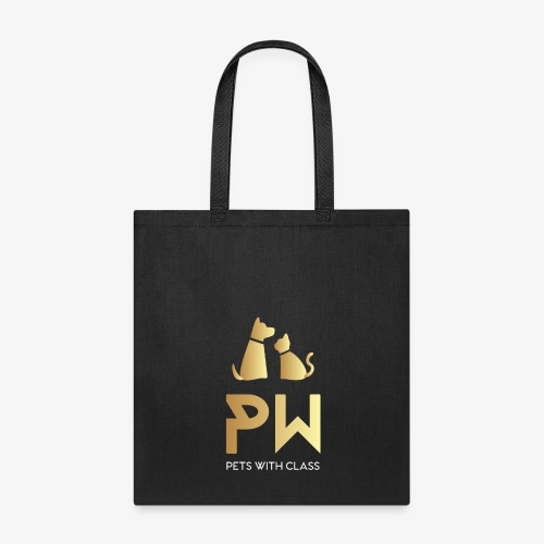 PW PETS WITH CLASS - Tote Bag
