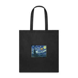 Starry Night Drone - Tote Bag