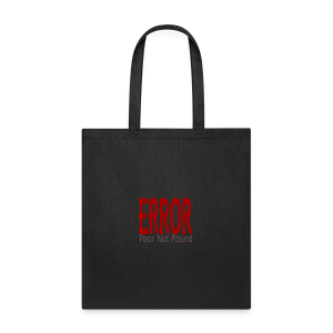 Oops There Is Something Missing! - Tote Bag