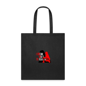 I speak only to Elizabeth : the blacklist tees - Tote Bag
