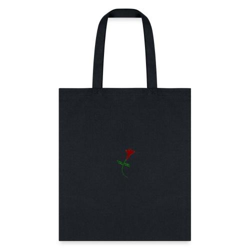 Street Rose rose - Tote Bag