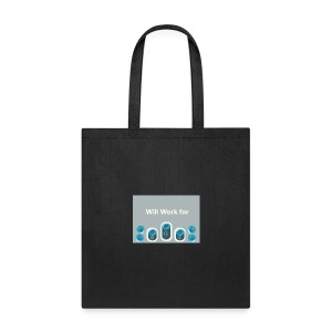 Will_work_for_buttons - Tote Bag