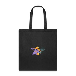 I Love Rescued Breed - Tote Bag