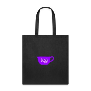 Tea Shirt Simple But Purple - Tote Bag