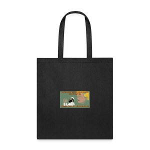 Aggression never solved anything - Tote Bag