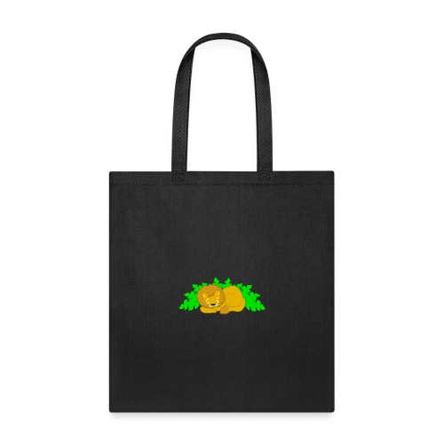 Sleeping Lion - Tote Bag