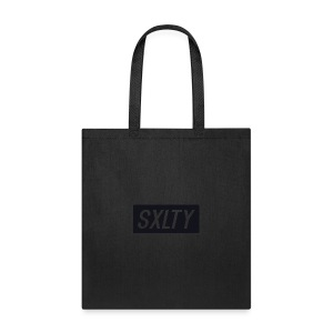 *Dark Blue SXLTY Logo* REGULAR TSHIRT. - Tote Bag