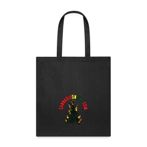 Cannabis On Fire T-Shirt 420 Cannabis Wear 2017 - Tote Bag